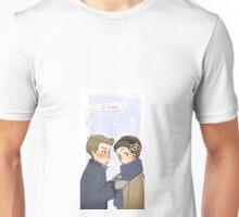 Dean/Castiel - Winter Unisex T-Shirt