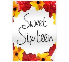 Sweet Sixteen Poster