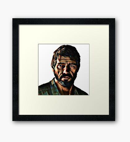 Joel The Last Of Us Framed Print
