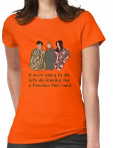 Peruvian Folk Band Womens Fitted T-Shirt