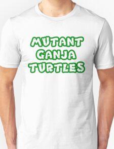 Mutant Ninja Turtles Weed T-Shirt