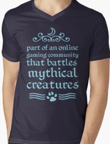 Mythical Creatures II Mens V-Neck T-Shirt