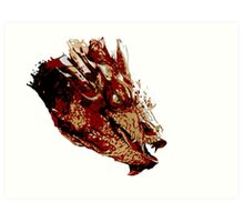 Smaug the Unassessably Wealthy Art Print