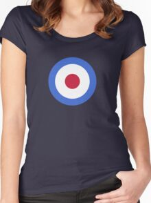 Stiles Target Tee Women's Fitted Scoop T-Shirt