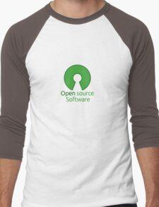 open source software Men's Baseball ¾ T-Shirt