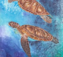 Sea Turtles by ganieda