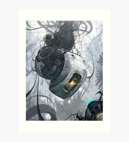 GLaDOS Art Print