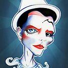 Pierrot by sandygrafik