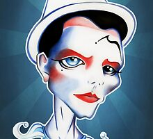 Pierrot by sandygrafik