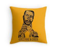 Gucci Mac & Cheese Throw Pillow