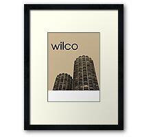 Wilco Framed Print