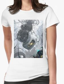 GLaDOS Womens Fitted T-Shirt