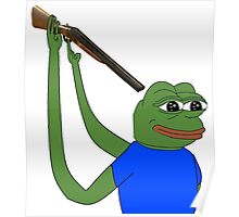 Suicidal pepe Poster