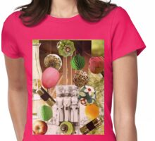 LIFE = JUGGLING Womens Fitted T-Shirt