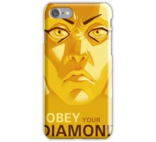 OBEY YOUR DIAMOND iPhone Case/Skin