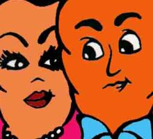 Carrot Couple Sticker