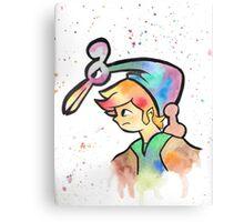 Zelda WaterColor Canvas Print