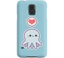 Cute Blue Octopus Samsung Galaxy Case/Skin