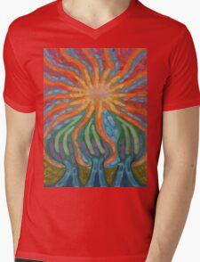 Mad Sun Mens V-Neck T-Shirt
