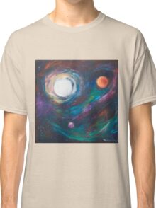 Original Acrylic Painting View from Starbase 27. Classic T-Shirt