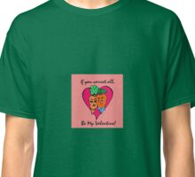 Carrot Couple Valentine's Day Card Classic T-Shirt