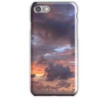 Dawn Clouds and Sky over the Bahamas Sea iPhone Case/Skin