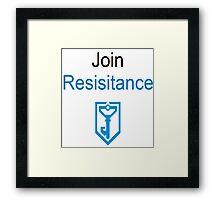 Ingress Resistance Framed Print