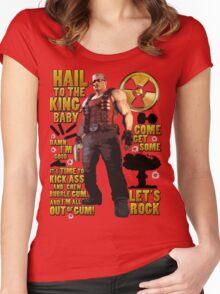 Duke Nukem Women's Fitted Scoop T-Shirt