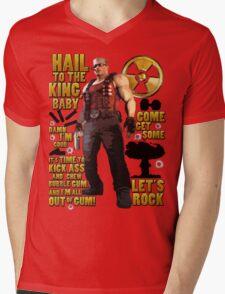 Duke Nukem Mens V-Neck T-Shirt