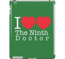 I Heart Heart The Ninth Doctor iPad Case/Skin