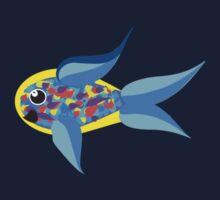 Tropical Rainbow Fish (Please Read Description) Kids Tee
