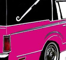 Pink Hearse Sticker
