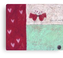 Hearts I Canvas Print