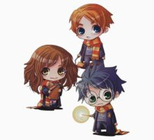 Harry, Hermione, Ron One Piece - Long Sleeve