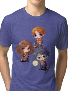 Harry, Hermione, Ron Tri-blend T-Shirt