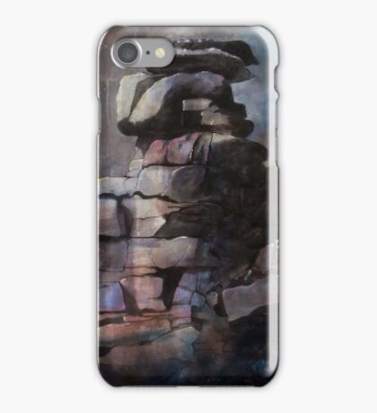 Great Staples Tor, Dartmoor, UK iPhone Case/Skin