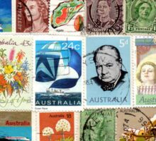 Australian Stamps Sticker