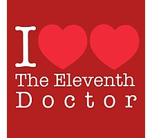 I Heart Heart The Eleventh Doctor Photographic Print