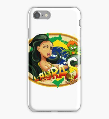 Laura's Fresh Fruit Store ( Laura Street Fighter V ) iPhone Case/Skin