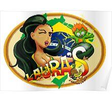 Laura's Fresh Fruit Store ( Laura Street Fighter V ) Poster