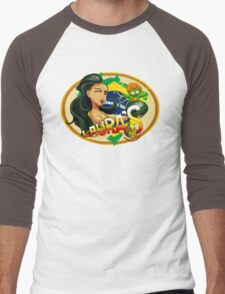 Laura's Fresh Fruit Store ( Laura Street Fighter V ) Men's Baseball ¾ T-Shirt