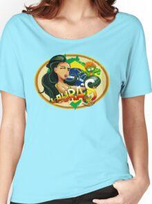 Laura's Fresh Fruit Store ( Laura Street Fighter V ) Women's Relaxed Fit T-Shirt