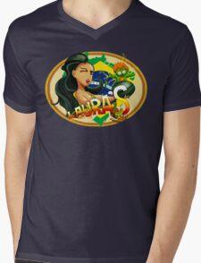 Laura's Fresh Fruit Store ( Laura Street Fighter V ) Mens V-Neck T-Shirt