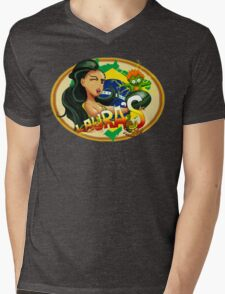 Laura's Fresh Fruit Store ( Laura Street Fighter V ) Mens V-Neck T-Shirt