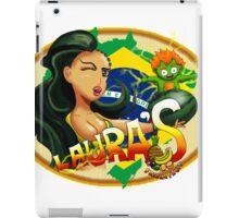 Laura's Fresh Fruit Store ( Laura Street Fighter V ) iPad Case/Skin