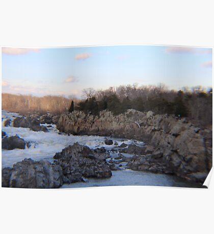 Potomac River Scenery Poster