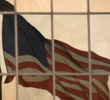 Reflections Of Old Glory Sticker