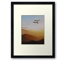 Talon Lock Framed Print