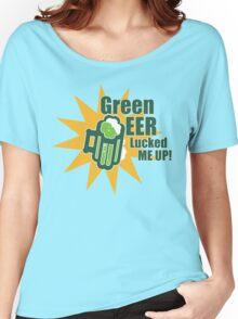 Green Beer Luck Women's Relaxed Fit T-Shirt