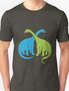 Brontosaurus funny nerd geek geeky T-Shirt